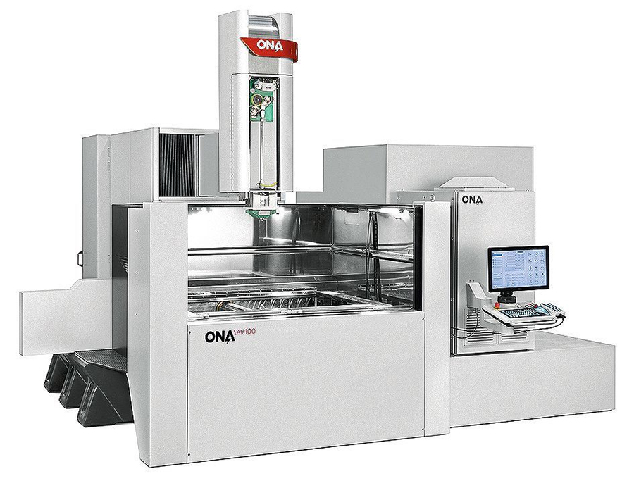 AV100 wire EDM machine
