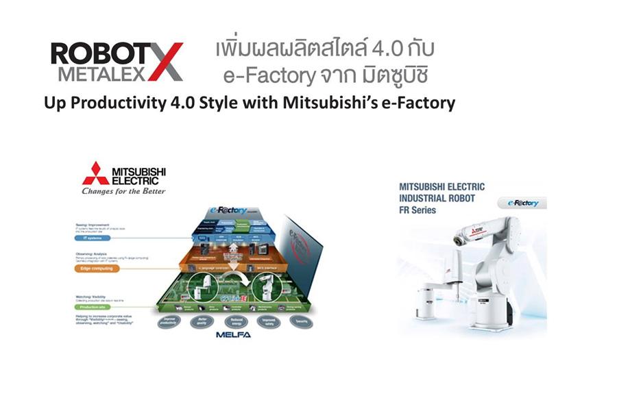 เพิ่มผลผลิตสไตล์ 4.0 ด้วย ROBOT FR SERIES จาก มิตซูบิชิ