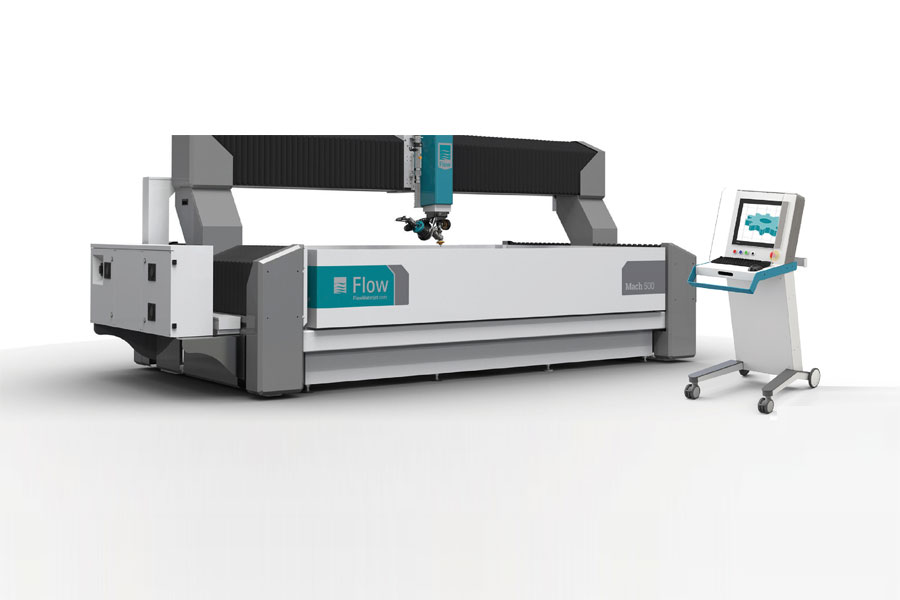 The Workhorse of Waterjet รุ่น Mach 500 จาก Flow Waterjet USA
