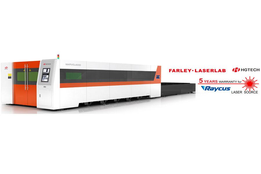 เครื่องไฟเบอร์เลเซอร์ตัดโลหะแผ่น FARLEY-LASERLAB –MARVEL 3000