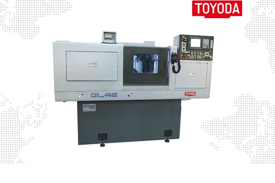 เครื่องจักร GL4-E CNC Angular Wheelhead Cylindrical Grinders จาก Toyoda