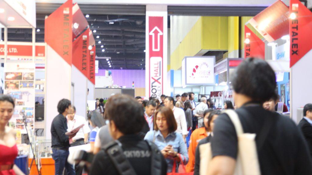 """เปิดแล้ว """"METALEX2018"""" รวมเทคโนโลยีอุตสาหกรรมโลหะการที่สมบูรณ์ที่สุดในอาเซียน"""