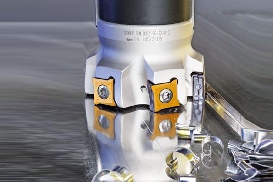 T890 MILLING LINE รุ่น LOGIQ 8 TANG มีดกัด 90 องศารุ่นใหม่ มาพร้อม 8 คมกัด