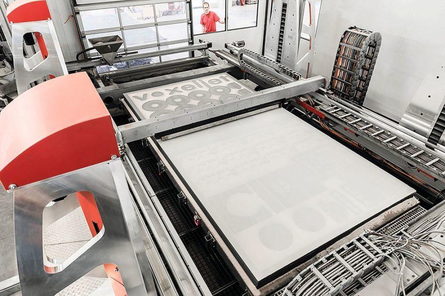 แม่พิมพ์ที่ผลิตด้วยเครื่องพิมพ์โลหะ 3D