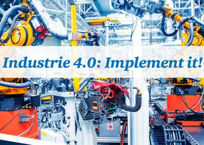 'Industry 4.0: Implement it!' / 'อุตสาหกรรม 4.0: ใช้มัน!'