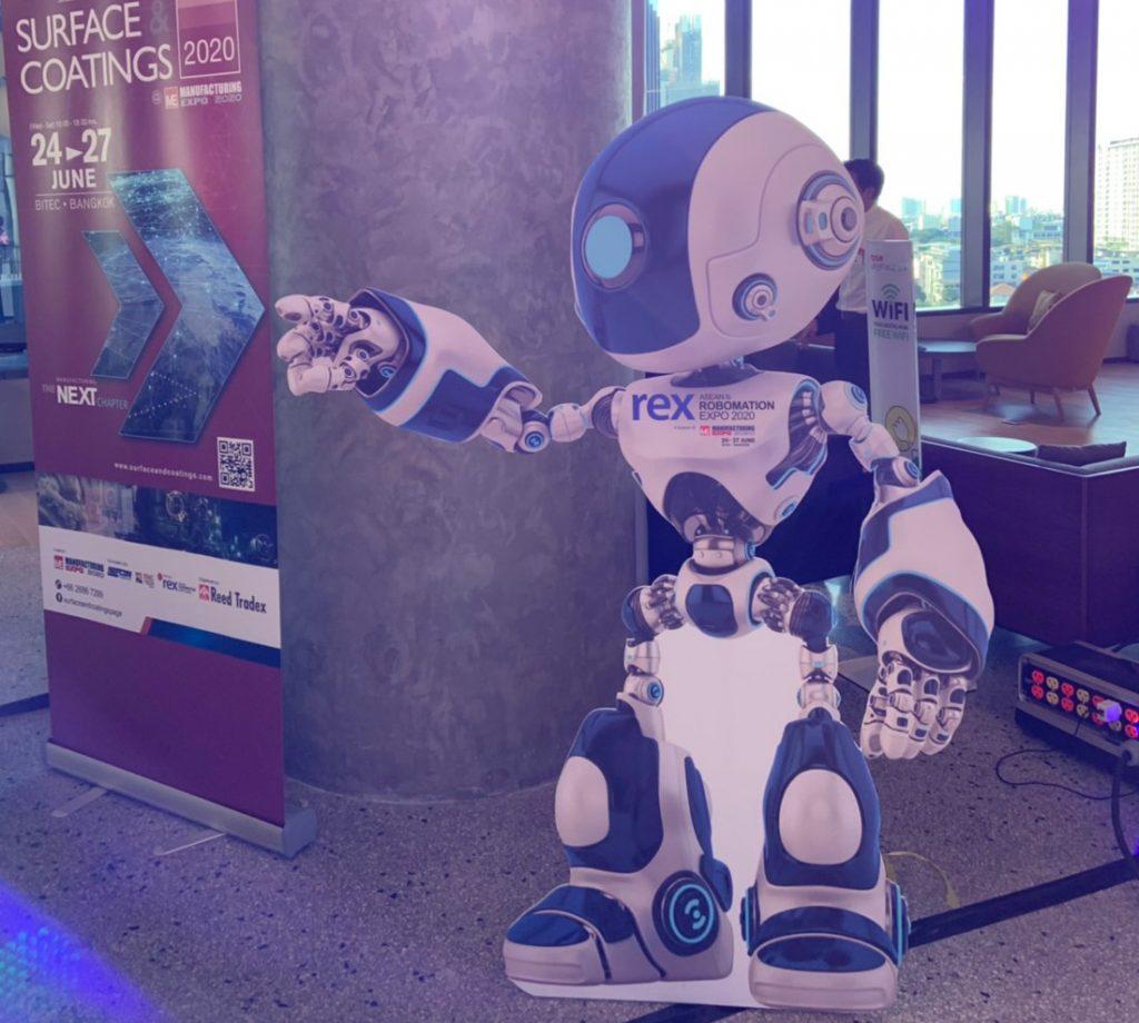 รี้ดฯ เปิดตัว 'rex' ASEAN Robomation Expo รุกขยายโปรไฟล์งานแสดงหุ่นยนต์อาเซียน