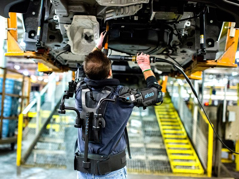 Exoskeleton Suit for Ford