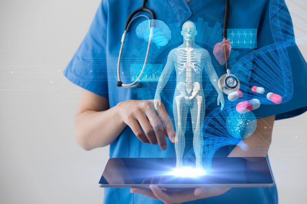 การใช้งาน 'AI' ในกลุ่มอุตสาหกรรมการผลิต โทรคมนาคม และการแพทย์