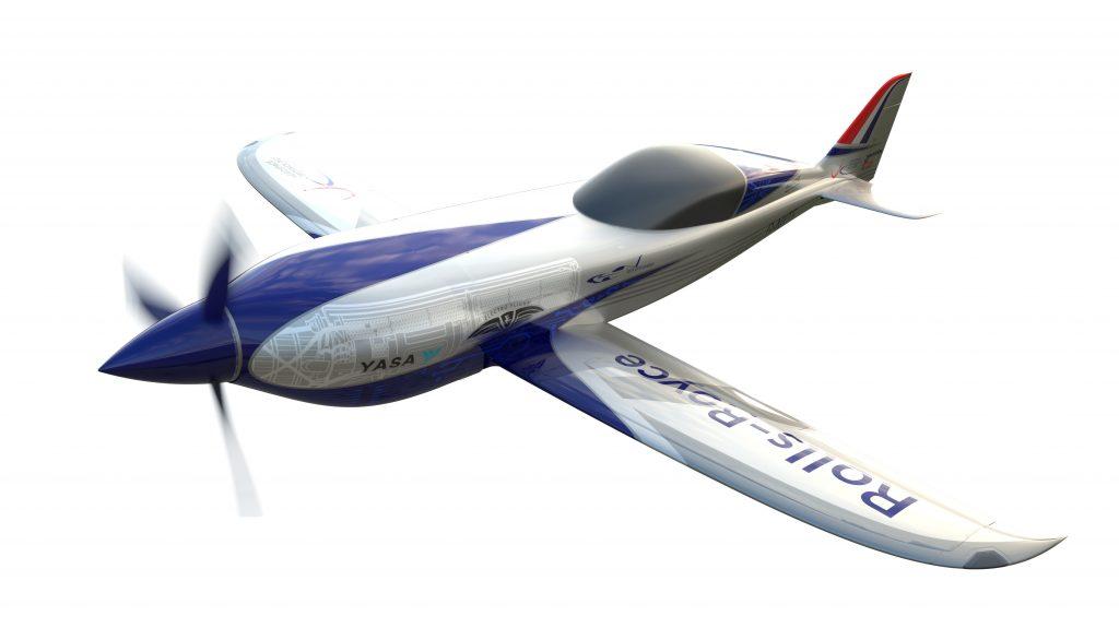 โรลส์-รอยซ์เตรียมเปิดตัวเครื่องบินพลังงานไฟฟ้า บินเร็วสุดลำแรกของโลก