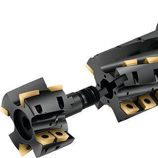 Walter's modular M4258 porcupine milling cutter