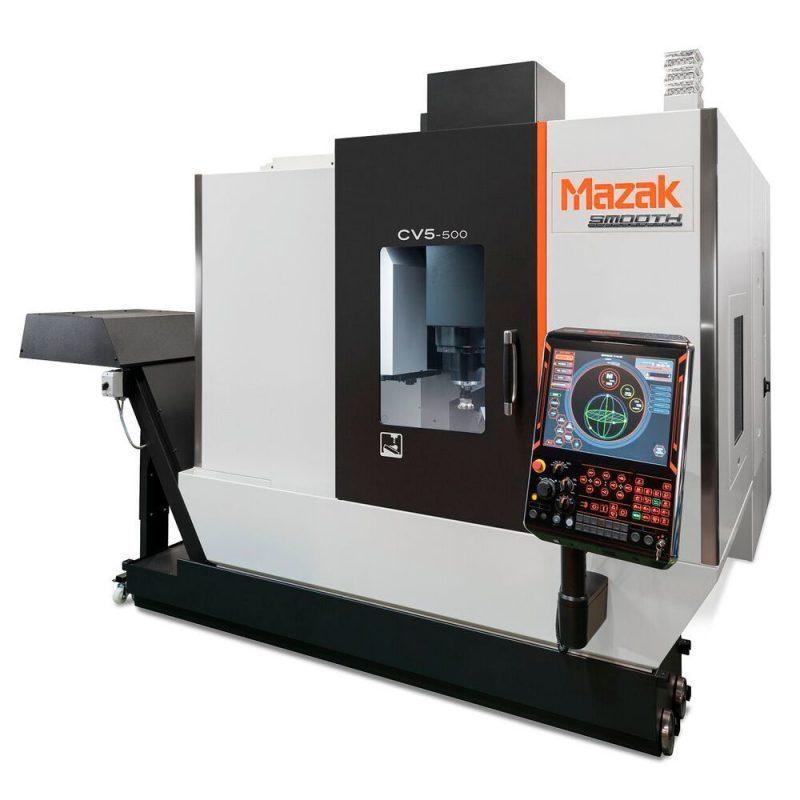 เครื่องจักร 5 แกนจาก Mazak กะทัดรัด เหมาะสำหรับ start-up และ job shops