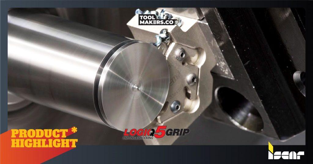 LOGIQ5GRIP | มีดเซาะ 0.6 mm บางสุดในโลก สะดวก ไม่ต้องตั้งค่า จาก ISCAR
