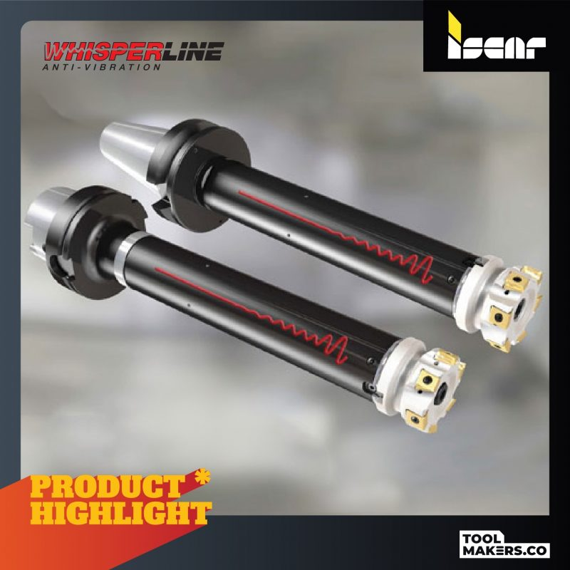 Whisperline Anti-Vibration tools_Iscar