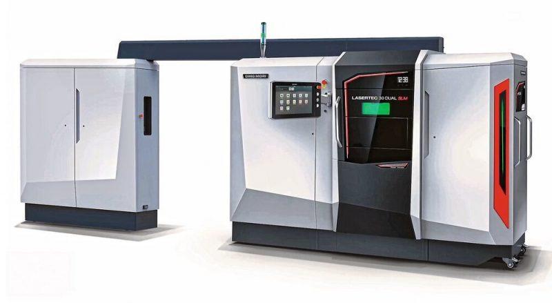 DMG Mori Lasertec 30 Dual SLM | เครื่องพิมพ์โลหะ 3 มิติด้วยเลเซอร์พลังงานสูงแบบคู่