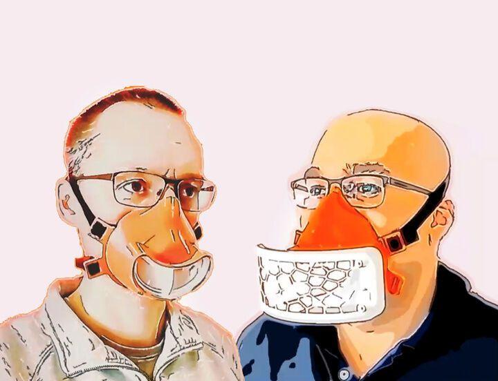 หน้ากากสำหรับปากและจมูกจาก Sauer & Sohn