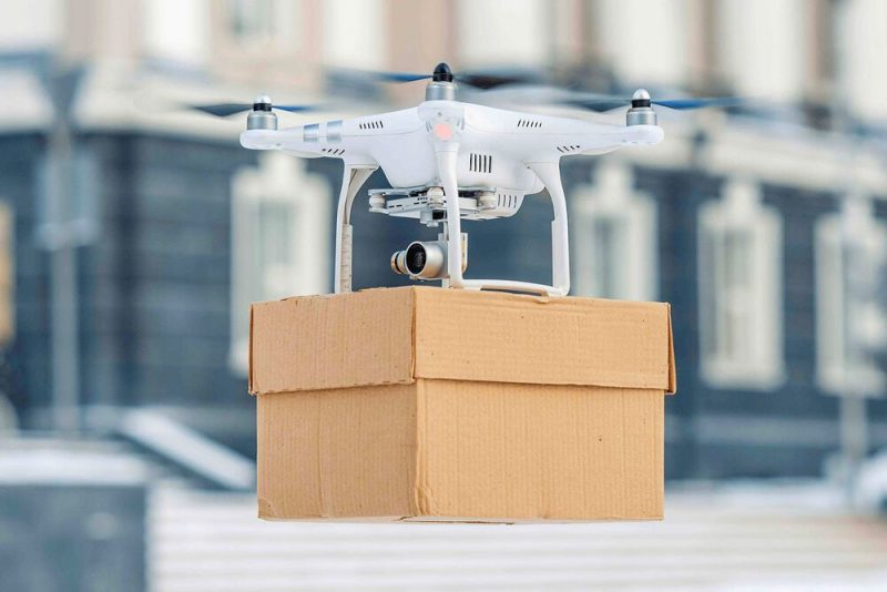 low space_drone delivery