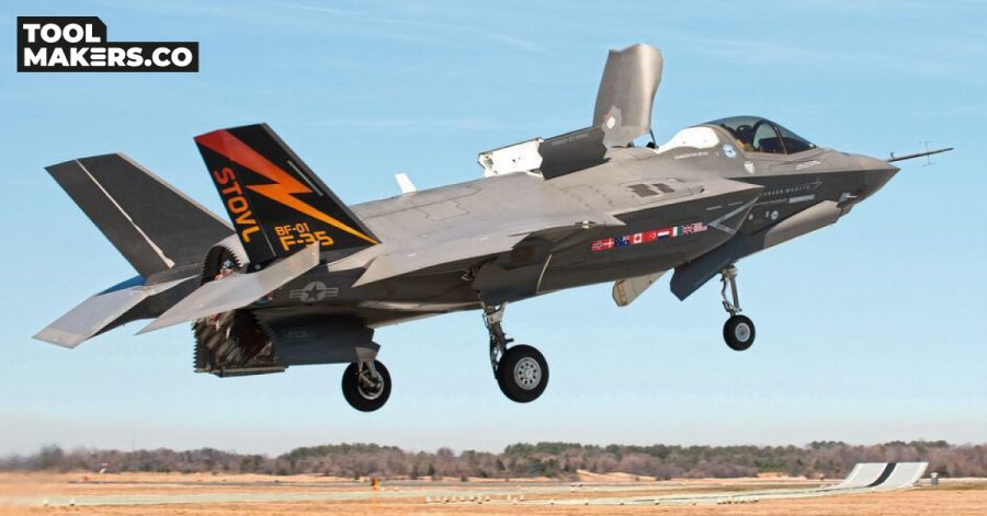 Taking the F-35 fighting jet