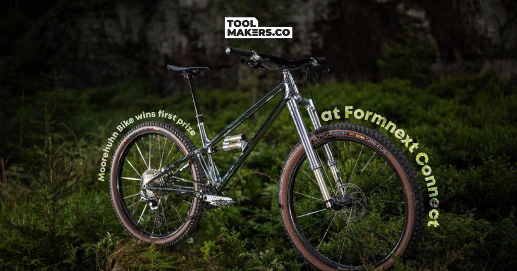 สองล้อสุดล้ำ Moorehuhn Bike คว้ารางวัลชนะเลิศที่ Formnext Connect