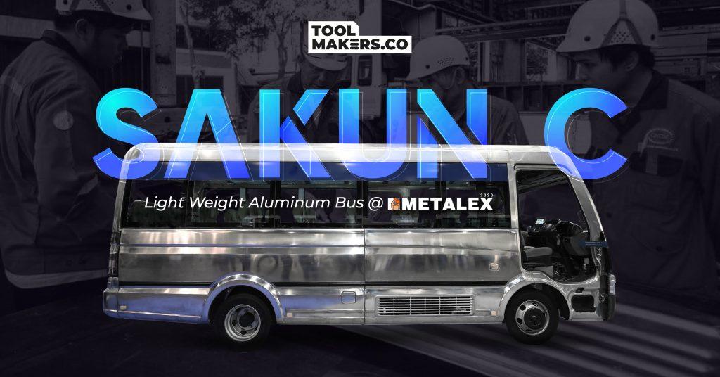 Light Weight Aluminum Bus – Sakun C มาจากไหน? ผลิตขึ้นอย่างไร?