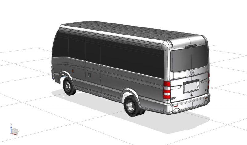 SakunC Aluminum Bus