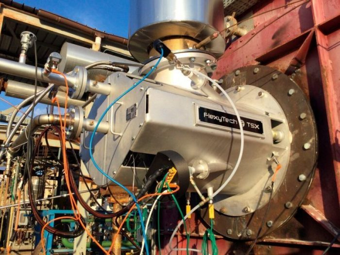 Hydrogen-based decarbonisation of industrial furnaces
