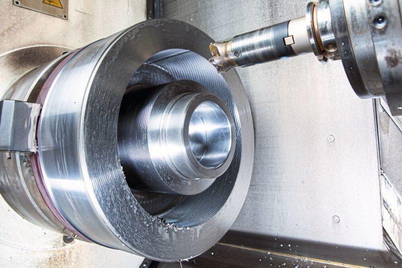 high-feed milling machine