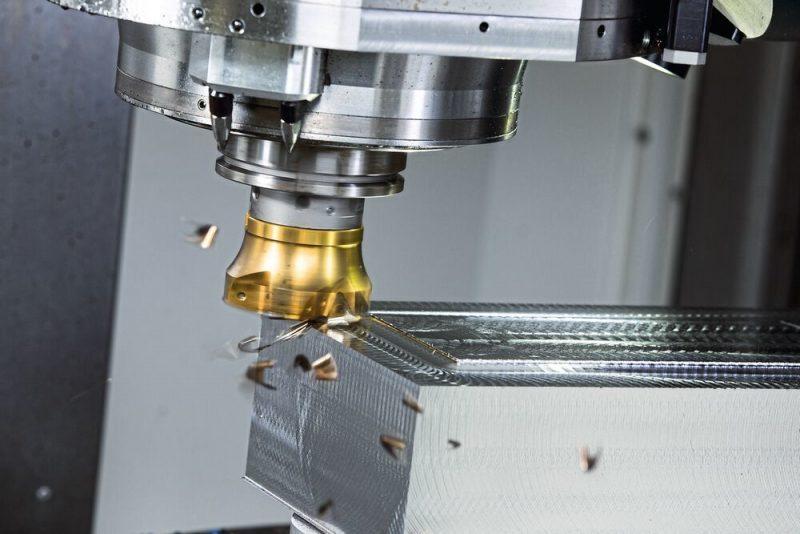 การกัดอัตราป้อนสูง_High-feed milling