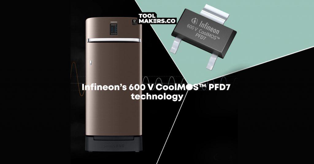 Samsung เลือก Infineon สำหรับการออกแบบอินเวอเตอร์ ตู้เย็นแรกที่ใช้ MOSFET