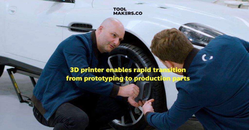 เครื่องพิมพ์ 3 มิติ ช่วยผลิตชิ้นส่วนตามสั่งได้อย่างรวดเร็ว